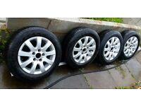 volkswagen alloys+ tyres