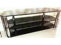 Smoked glass tv stand a nest tables