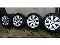 16 inch 5x112 genuine Mercedes C class w204 alloys wheels