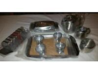 18/8 Stainless Steel 10 Piece Breakfast Set. BNIB
