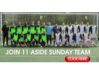 FOOTBALL TEAMS LOOKING FOR PLAYERS, 1 DEFENDER, 1 STRIKER NEEDED FOR LONDON FOOTBALL TEAM: b29w