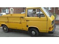 Vw T25 pick up,1989, 1.9cc.van