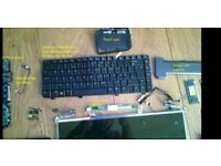 Laptop parts from Compaq presario c700