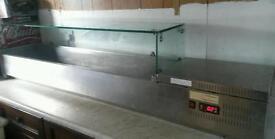 Salad / pizza bench top fridge