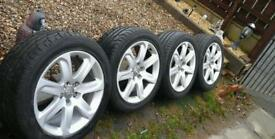 Alloys came off a audi A7