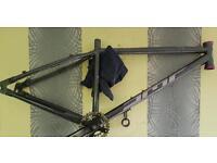 Dmr mountain bike frame