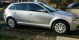Audi a3 1.6 petrol 5dr sportback silver
