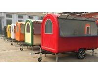 Mobile Catering Trailers - from £4450 - Multi purpose - 3m long and 2.2m long Made to order