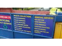 House clearance / rubbish collection / man and van / any junk / waste collected