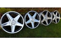 For sale wheels AZEV A 18's 8.5 ET18 5x120 VW T5,INSIGNIA Vauxhall, BMW models