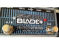 Electro Harmonix SwitchBlade Plus ABY Dual Amp Foot Switch