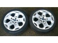 Ford MONDEO MK4 TITANIUM 2007-2014 (2x) 18'' Alloy Wheels with Tyres 235/40 R18