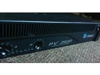 PV -2600 power amplifier Peavey hardly used
