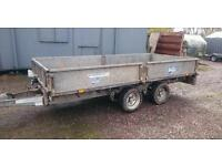 Ifor williams lm125 trailer dropside flatbed