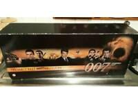 James bond vhs box set