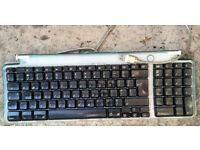 Retro Apple Mac USB Keyboard M2452 USB - Aqua Blue