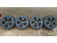 """20"""" Land Range Rover Sport HSE REFURBISHED ALLOY WHEELS with Continental 5mm"""
