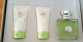 Versace Versense Eau de Toilette, Shower Gel, Body Lotion (50ml)
