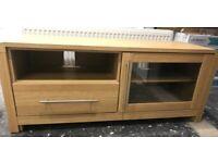 Oak laminate TV cabinet