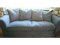 Substantially made, Habitat 3 seater sofa