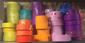 Étiquettes dinventaire couleurs /  Inventory labels