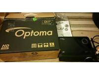 Optoma Home Cinema HD Projector- Boxed