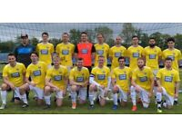 Looking for a saturday football team, join football team in London. Find football team. 101j2