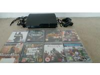 Ps3 Console + 8 Games