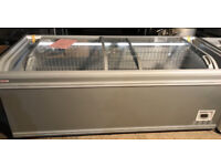 Brand New AHT ChestFreezer FrozenFood Commercial Shop IceCream With LIGHT INSIDE