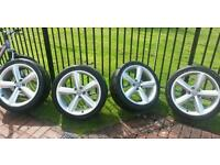 Audi alloys 5x112 in excellent condition