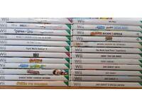 Nintendo Wii Console & Games Bundle