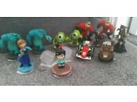Disney Infinity XBOX 360 figures