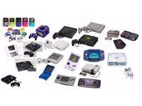 WANTED:,nes,Snes,Gameboy,gamecube Nintendo 64 Megadrive Dreamcast Original xbox