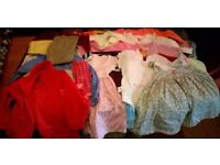 Bundle lot of girls clothes, 1-2yr 30 items