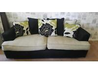 Monique sofa & swivel chair suite.. Delivery available