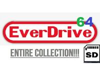 Everdrive 64 ED64 (Nintendo 64) - Retro games - Retro Arcade - SD CARD