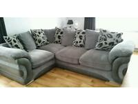 @@LOOK LOOK@@@ IMMACULATE MODERN CORNER SOFA SUITE AND CHAIR @@@