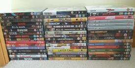 Collection of Dvds.