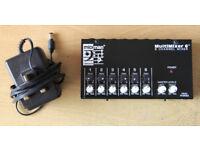 MIDIman 'MultiMixer 6' --- 6 Channel Mixer
