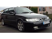 SAAB 9-3 se aero 2.0 TURBO 2002 3 door MOT 12/07/17 sale/swap £575ono