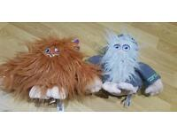 2 Moshi monster teddies - great condition