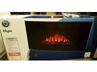 Brand New, Still In Box, Wall Mounted LED Electric Fire.