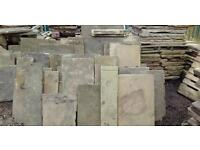 Stone flags for sale from ��45 to��75 a sq yard, top quality flags at low prices