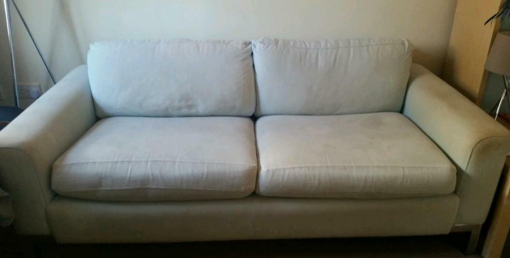 dfs linda barker sofa 3 seater in st mellons cardiff gumtree. Black Bedroom Furniture Sets. Home Design Ideas