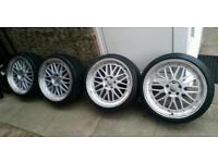"""19"""" BBS LM CH Reps Staggered Audi A3 A4 A6 S3 S4 VW Golf Passat Seat Leon Skoda"""