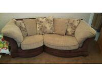 Maria snuggle sofa and chair