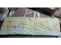 Cot Bumper and Bedding Set 7 piece