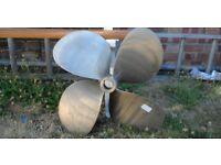 4 Blade Bronze Boat Propeller