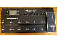 Line6 POD HD500x with HD Fully Loaded Model Packs