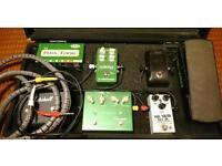 Complete FX Board, TC Electronic, T-Rex, Korg, Ernie Ball, Fulltone